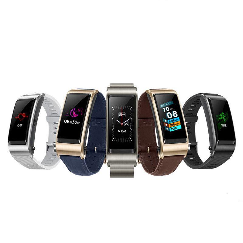 Huawei Talkband B5 Smart Band Bluetooth Gps Sleep Fitness Tracker Sport Wristband Pedometer For IOS Andriod Phone