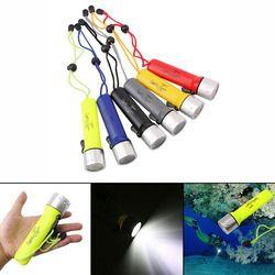 Profesional linterna submarinismo 1200Lm Q5 LED buceo antorcha Iluminación luz linterna portátil impermeable