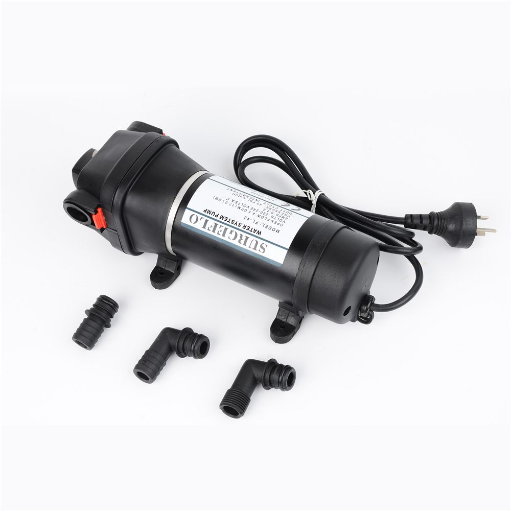 AC 110V/220V 40PSI Electric Water Pump mini Diaphragm Pump 25m lift Submersible pumps FL-41 FL-43