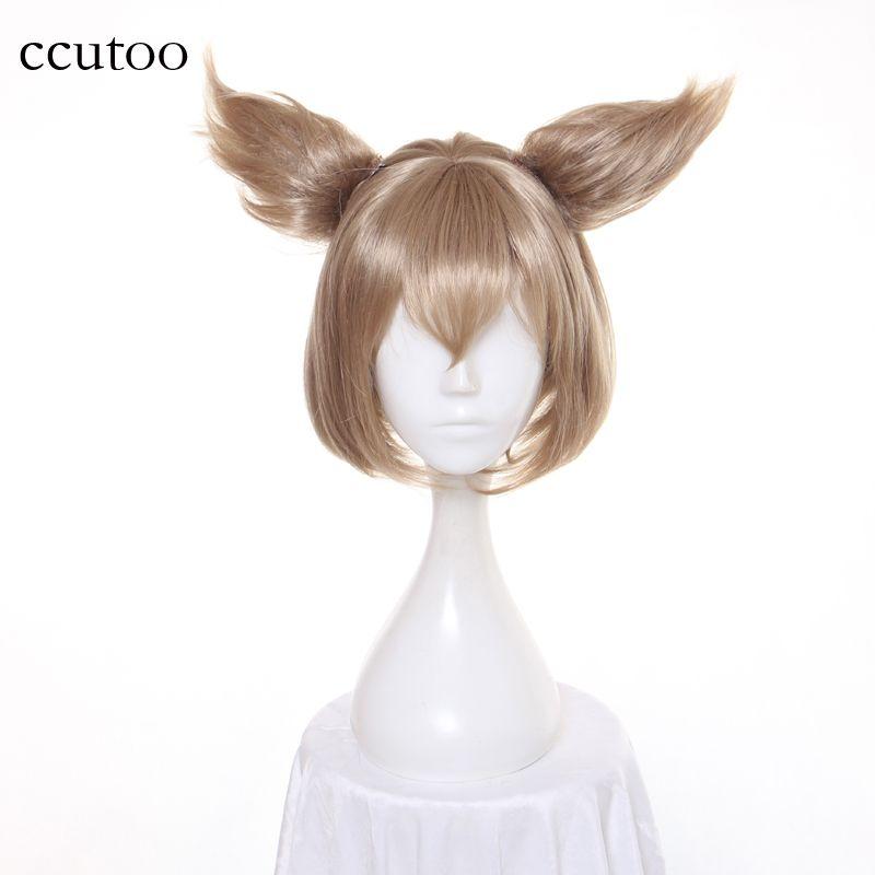Ccutoo Re: Zero Kara Hajimeru Isekai Seikatsu Felix Argyle Anime cheveux synthétiques Cosplay perruques + oreilles