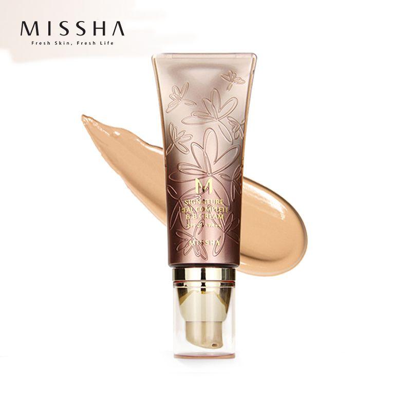 MISSHA M Signature Real Complete BB Cream SPF25 PA++ 45g (No.27)Foundation Moisturizing Makeup Perfect Cover Korean Cosmetics