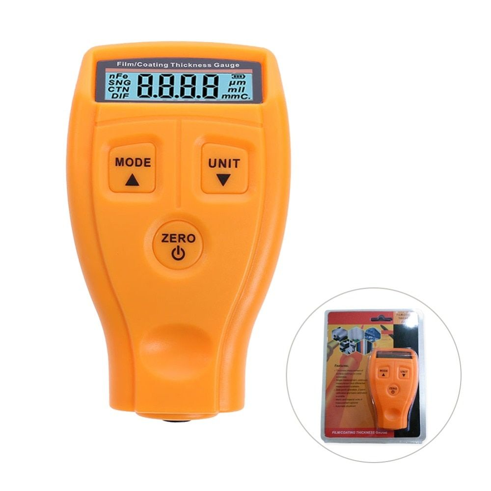 Russian Manual GM200 Paint Thickness Digital Paint Coating Thickness Gauge Car Painting <font><b>Meter</b></font> With Original Box
