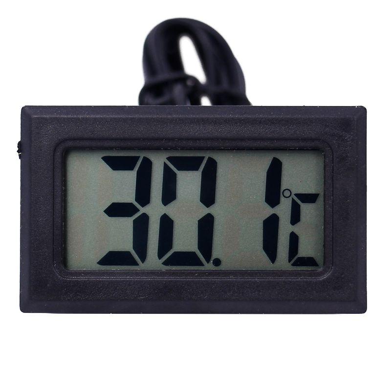 LCD Digital  Mini Thermometer Temperature Sensor Fridge Freezer Probe 40%off