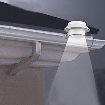 LED Solaire Lampe Capteur Étanche Solaire Lumière 3 Led Rue Lumière Chemin de Mur Extérieur Lampe Sécurité Spot Éclairage