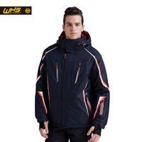 WHS 2018 nuevas chaquetas de esquí a prueba de viento abrigo masculino impermeable snowboard chaqueta adolescentes ropa de deporte al aire libre invierno