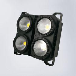 Blinder DMX 4 Mata 400 W LED COB Blinder Keren Putih + Putih LED Pemirsa 2 Saluran untuk Acara event Konser