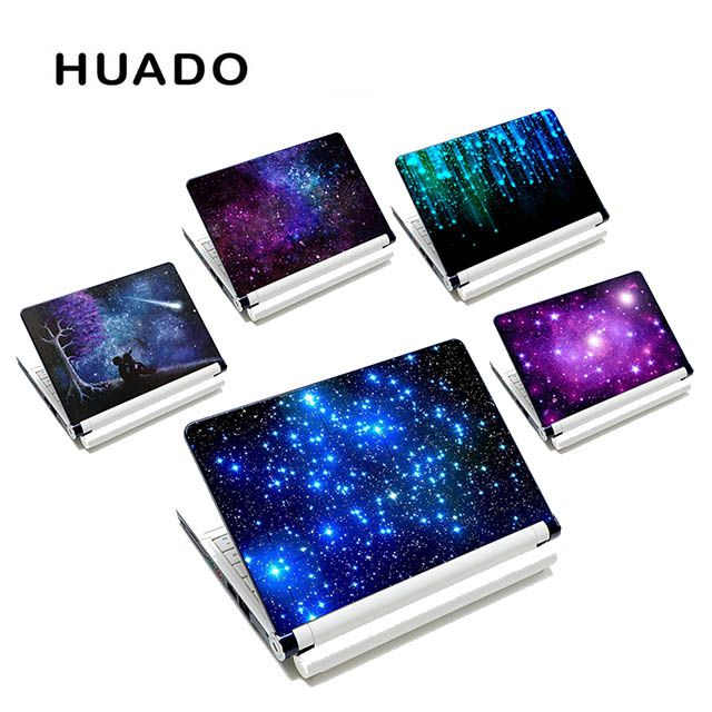 Sternenhimmel DIY Persönlichkeit Aufkleber laptop aufkleber 13 15 15,6 zoll laptop haut für lenovo/acer/asus/macbook air computer