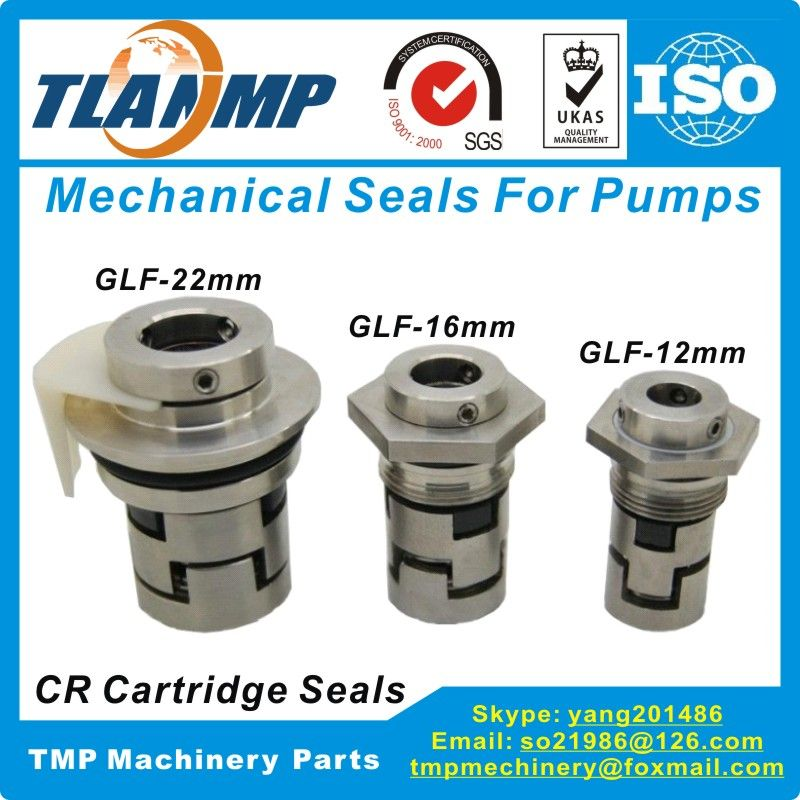 GLF-22 Mechanical Seals for CR32/CR45/CR64/CR90 Vertical Multi-stage Pumps |Shaft 22mm Cartridge Seals (HQQV/HQQE/CR/CRI/CRN22)