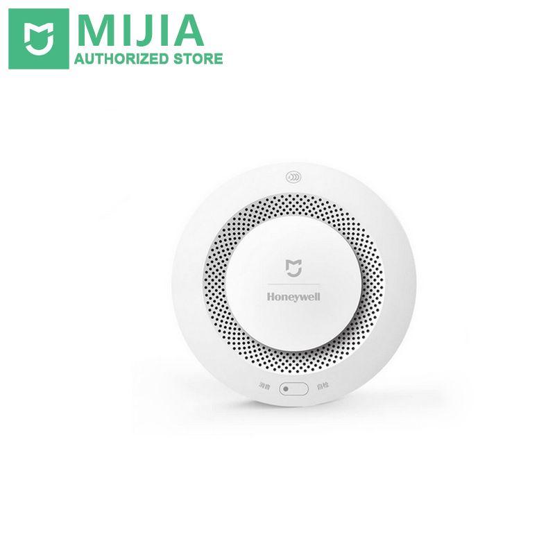 Xiaomi Mijia Honeywell Intelligent D'alarme Incendie Détecteur de Fumée alarme Sonore et Visuelle Travail D'alarme Avec Passerelle Mihome APP Télécommande