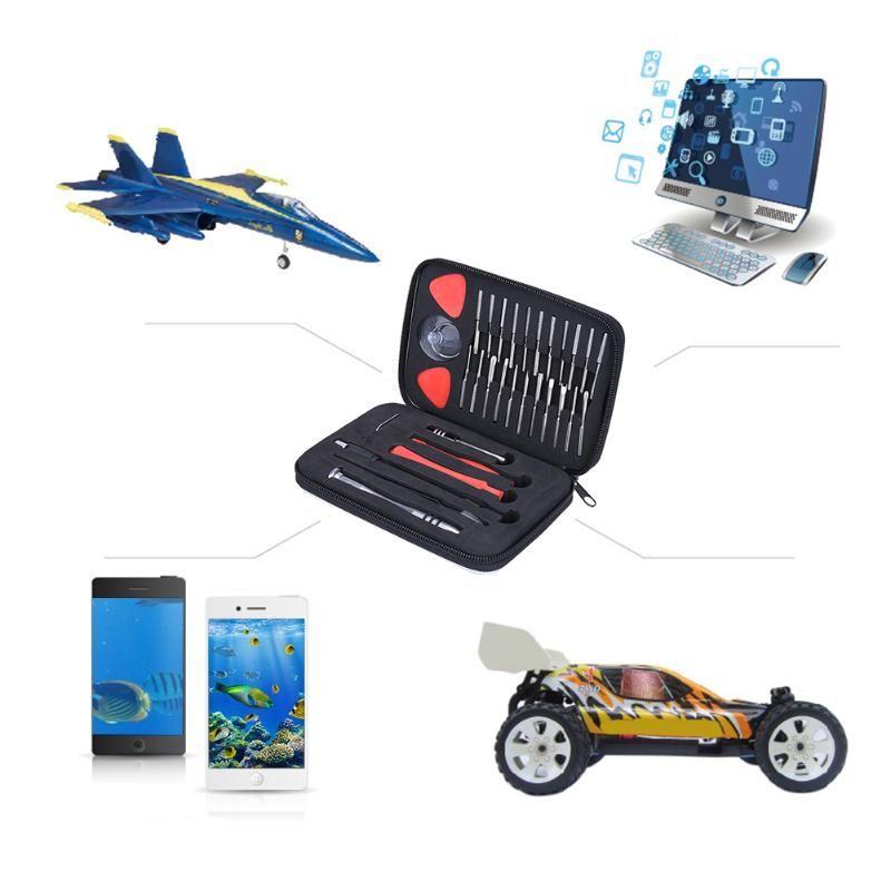 32 in 1 Multifunctional Screwdriver set Mobile Phone Tools Disassembly Repair Multi Tool Kit for Smart Phone Tablet PC