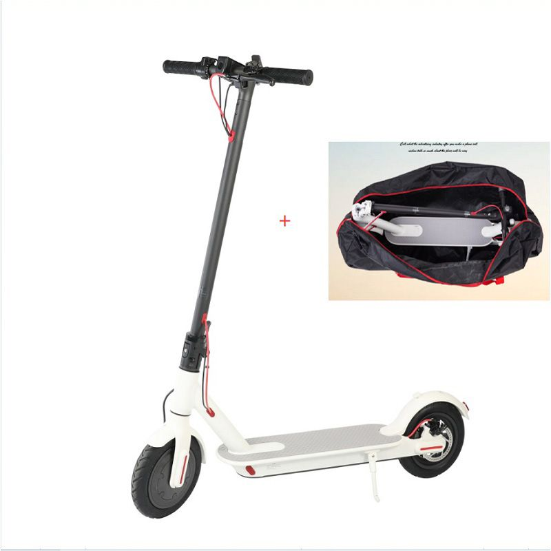 Famous Brand Scooter Mini 2 Wheels Smart Electric Scooter 30km Life with free Folding bag and shipping