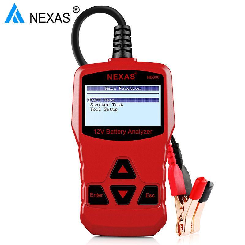 Nexas NB300 автоматически тестер аккумулятора 12 В CCA автомобиля анализатор тестер около батареи Аккумулятор анализатор автомобильный тестер лу...