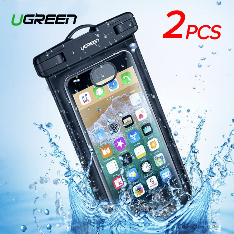 Ugreen Phone Case Bag Waterproof Phone Pouch 6.5'' Phone Bag Case For iPhone XR Xs Max X 8 7 6S Samsung Galaxy S9 S8 Phone Case