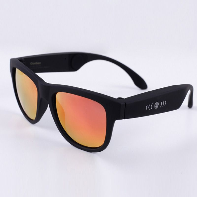 BGreen G1 Bone Conduction Headphones Sunglasses Bluetooth Headset Polarized <font><b>Glasses</b></font> SmartTouch Wireless Stereo Music Earphone