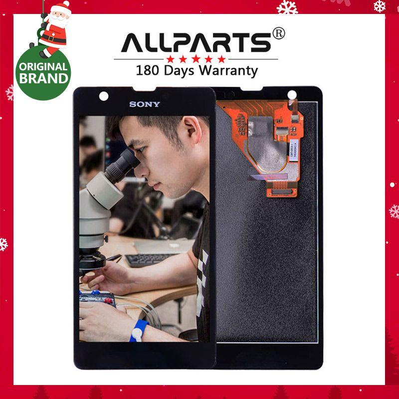 D'origine Pour SONY Xperia ZR Affichage avec Écran Tactile Digitizer Assemblée LCD de Remplacement Pour SONY Xperia ZR M36h C5502 C5503