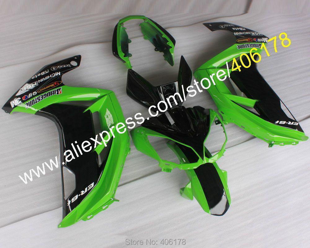 Hot Sales,For Kawasaki Ninja ER-6F 2012 2013 2014 2015 Fairing ER6F ER 6F 650 R Bodyworks Motorbike Fairing (Injection molding)