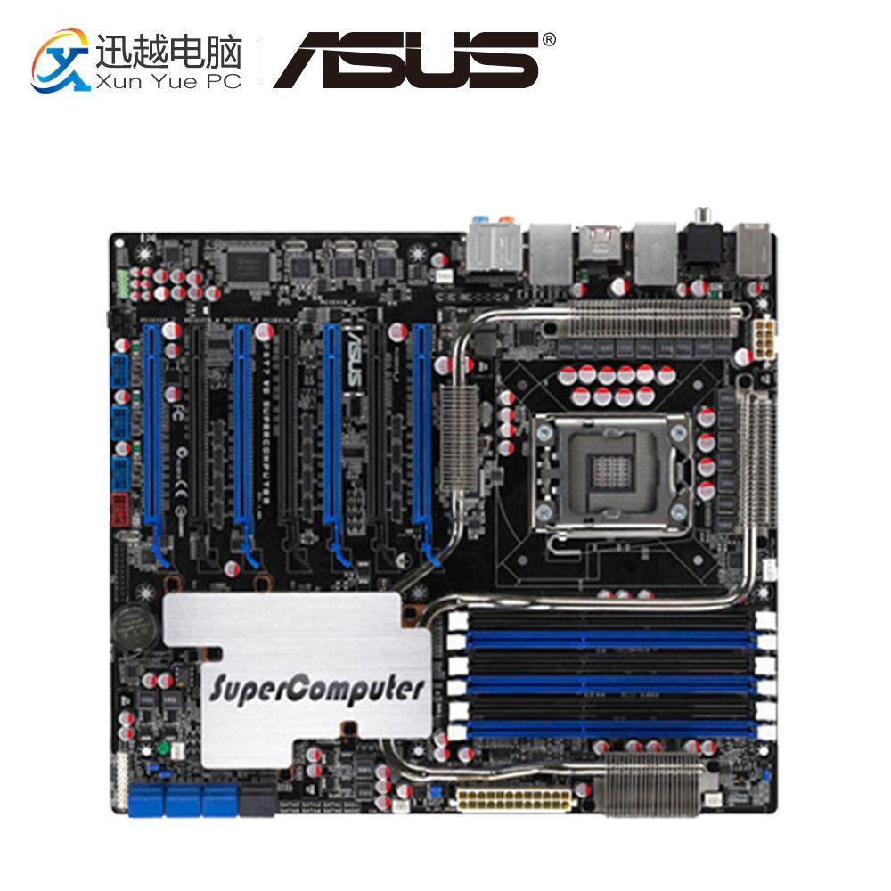 Asus P6T7 WS SuperComputer Desktop Motherboard X58 Sockel LGA 1366 i7 DDR3 SATA2 USB2.0 ATX
