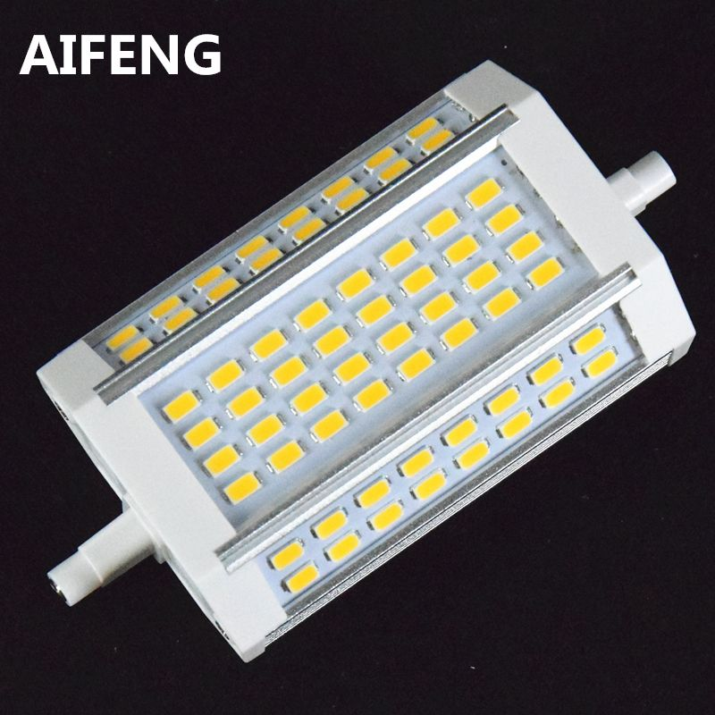 AIFENG puissant 30 W 3000lm r7s led 118mm dimmable 64led 5730smd r7s led lampe Remplacer la lampe halogène 200-300 W