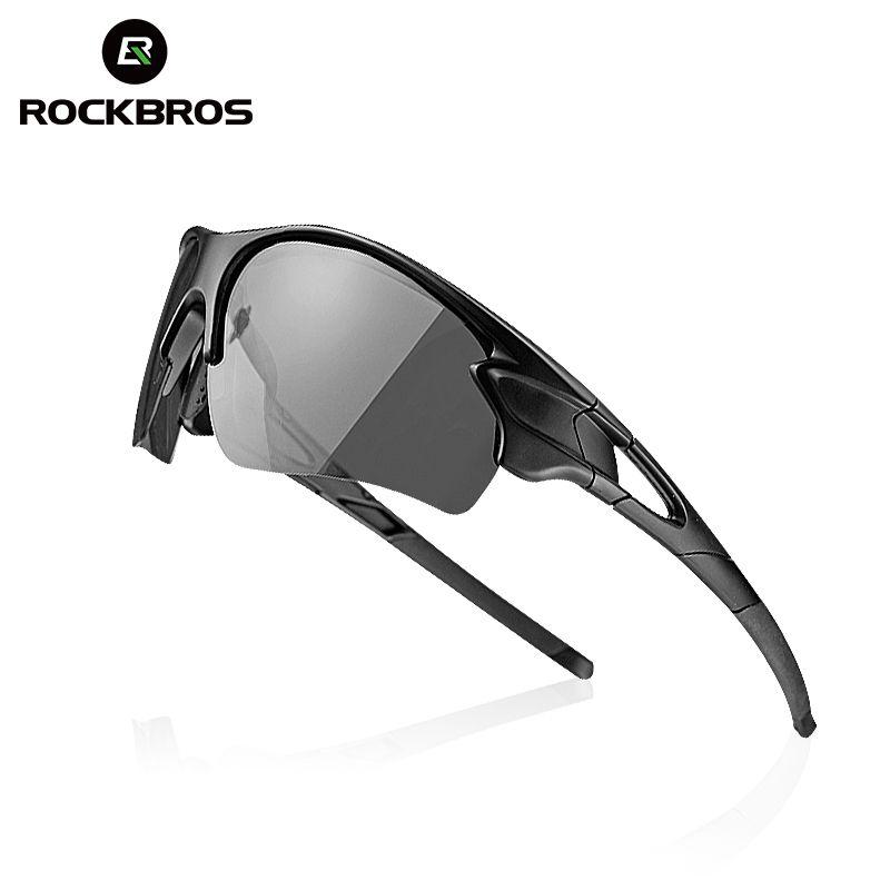 ROCKBROS Polarisierte Radfahren Photochromen Gläser Fahrrad Brille Outdoor Sports MTB Fahrrad Sonnenbrille Brille Brillen Myopie Rahmen