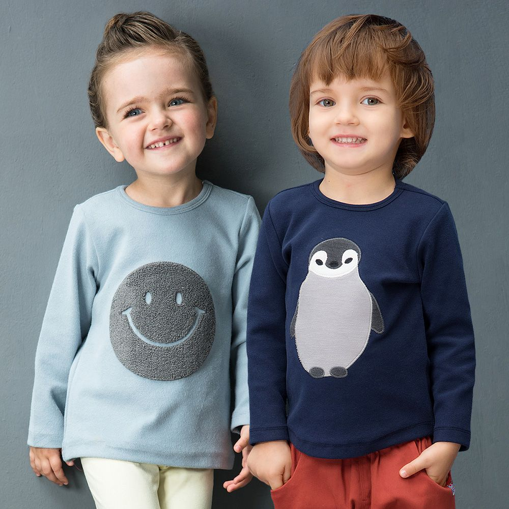 YINGZIFANG new autumn girls boys T-shirts Long Sleeve Unisex Child Clothes Casual Cotton infant baby girl boy Kids Children Tees