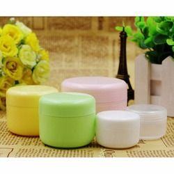 5 PCS Rechargeable Bouteilles Voyage Visage Crème Lotion Cosmétique Récipient En Plastique Vide Maquillage Pot Pot 5 Couleurs 20/50/100g
