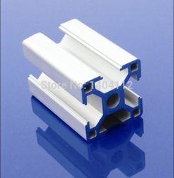 En aluminium Profil Aluminium Extrusion Profil 3030 30*30 couramment utilisé dans le montage cadre du dispositif, table et présentoir