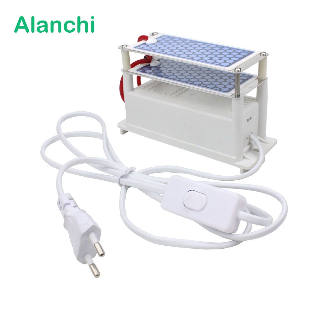 Ozone Generator Air Purifier 220V 110V Dual Ceramic Plates Release Ozone Output 10g With EU Plug Applicable Room Disinfection