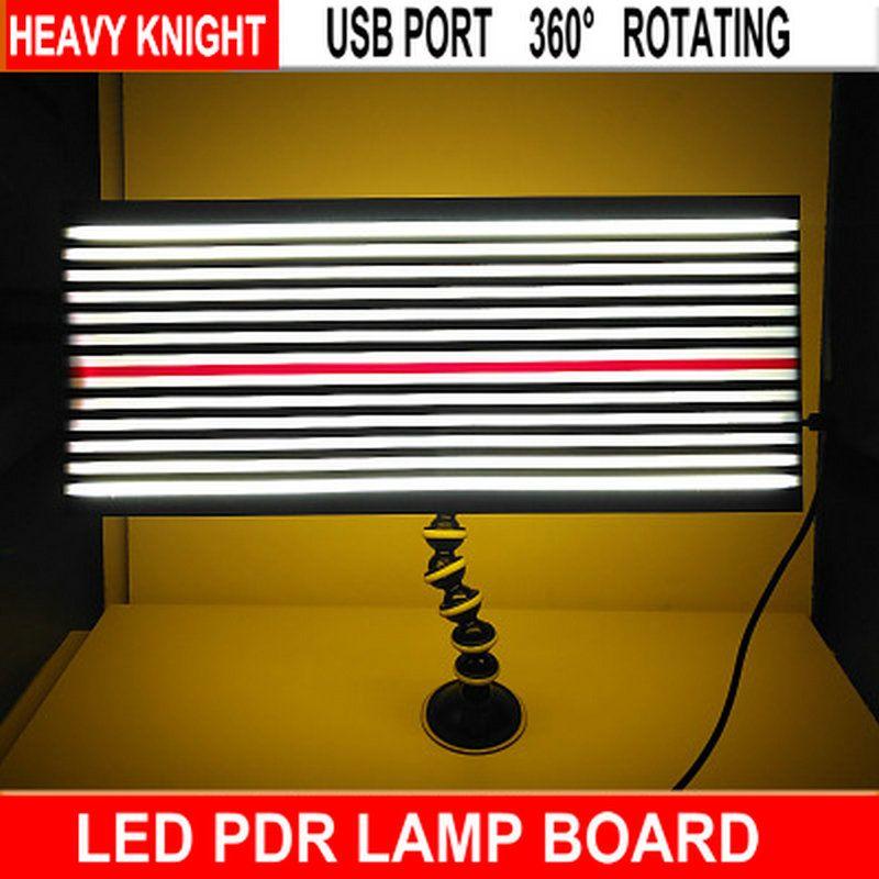 LED PDR lampe Dent réparation outils détecteur de Dent-PDR lumière master avec support d'ajustement PDR kit lampe panneau PDR ligne conseil
