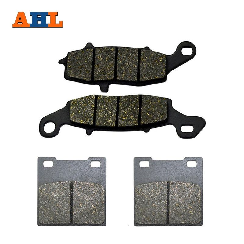 AHL Motorcycle Front And Rear Brake Pads For SUZUKI GS 500 GS500 1996-2010