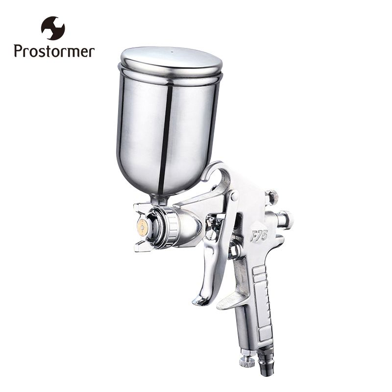 Prostormer 400ML Airbrush Professional <font><b>Pneumatic</b></font> Spray Gun Sprayer Alloy Painting Atomizer Tool With Hopper For Painting Cars