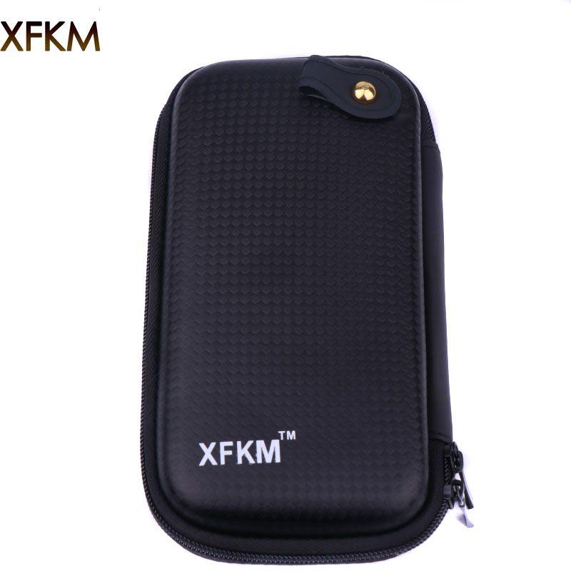 XFKM X6 Reißverschluss Fall Taschen Dual Ego x6 Tasche Für Box Mod RDA RBA Verdampfer schraubenspannvorrichtung Vape Zangen E Zigarette Zubehör