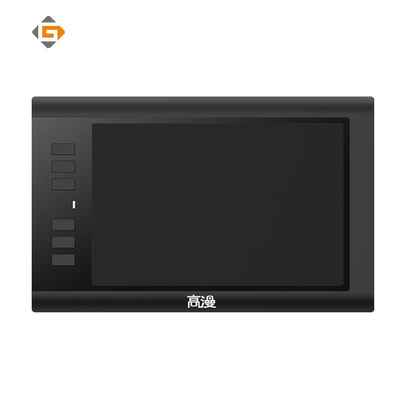 Promotion tablette graphique noire d'artiste de tablettes numériques de Promotion de 8x5 pouces GAOMON 860 T pour dessiner avec le stylo numérique d'usb et 6 clés exprès
