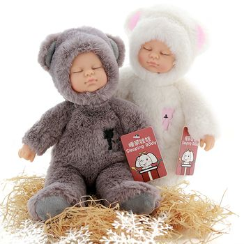 Kawaii girl dolls & stuffed pvc kids plush toys for girls Christmas gift high quality Bjd bebe doll reborn baby kids toys