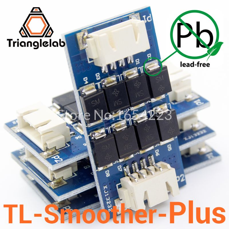 Trianglelab 4 pieces/pack TL-smoother PLUS addon module for 3D pinter <font><b>motor</b></font> drivers <font><b>motor</b></font> Driver Terminator reprap mk8 i3
