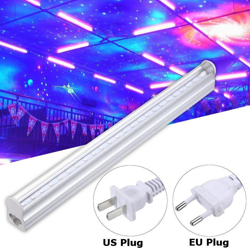 30cm UV Light Bar LED Strip Lights Lighting Party Club Blacklight Halloween Home Decor DJ Equipment 110-220V
