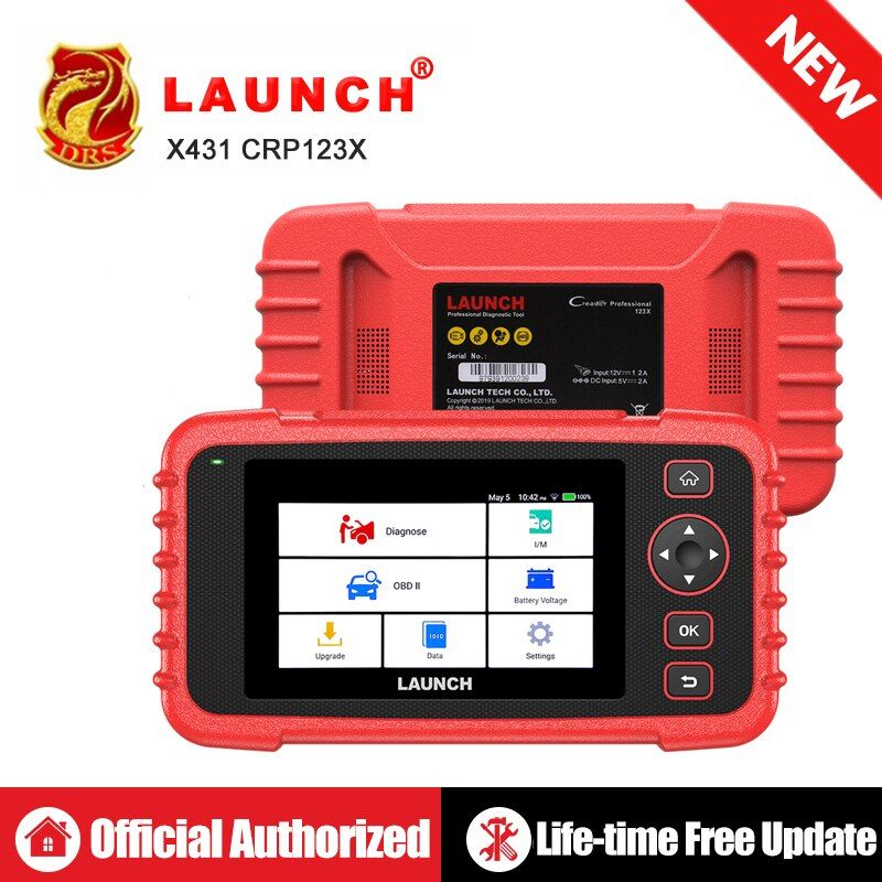 STARTEN X431 CRP123X OBD2 Scanner Auto Code Reader OBDII Diagnose Werkzeug ENG AT ABS SRS Starten Scanner Auto Automotive Werkzeug crp123