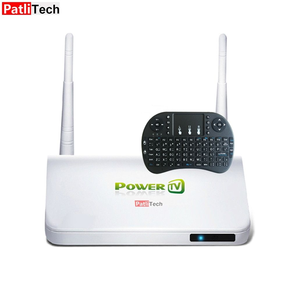 X6 I8 PowerTV iptv arabic box, & 2.4Ghz Arabic Keyboard, Android set-top box Europe tv receiver, Lifetime free forever iptv