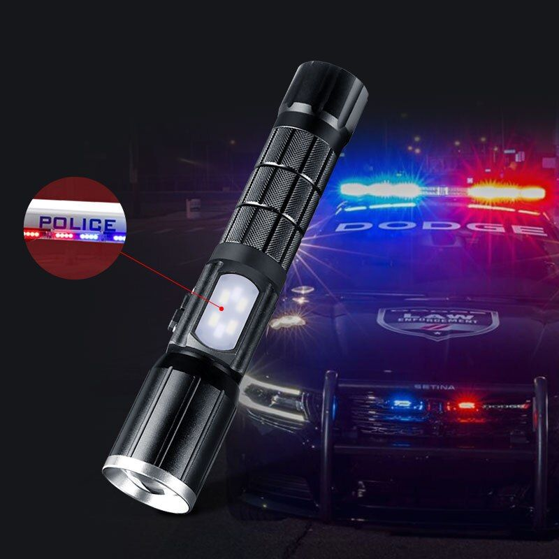 LED Rechargeable Aluminum Zoom Flashlight YGAE CREE T6 Linterna <font><b>Torch</b></font> USB 18650 Outdoor Camping Powerful Tactical Led Flashlight