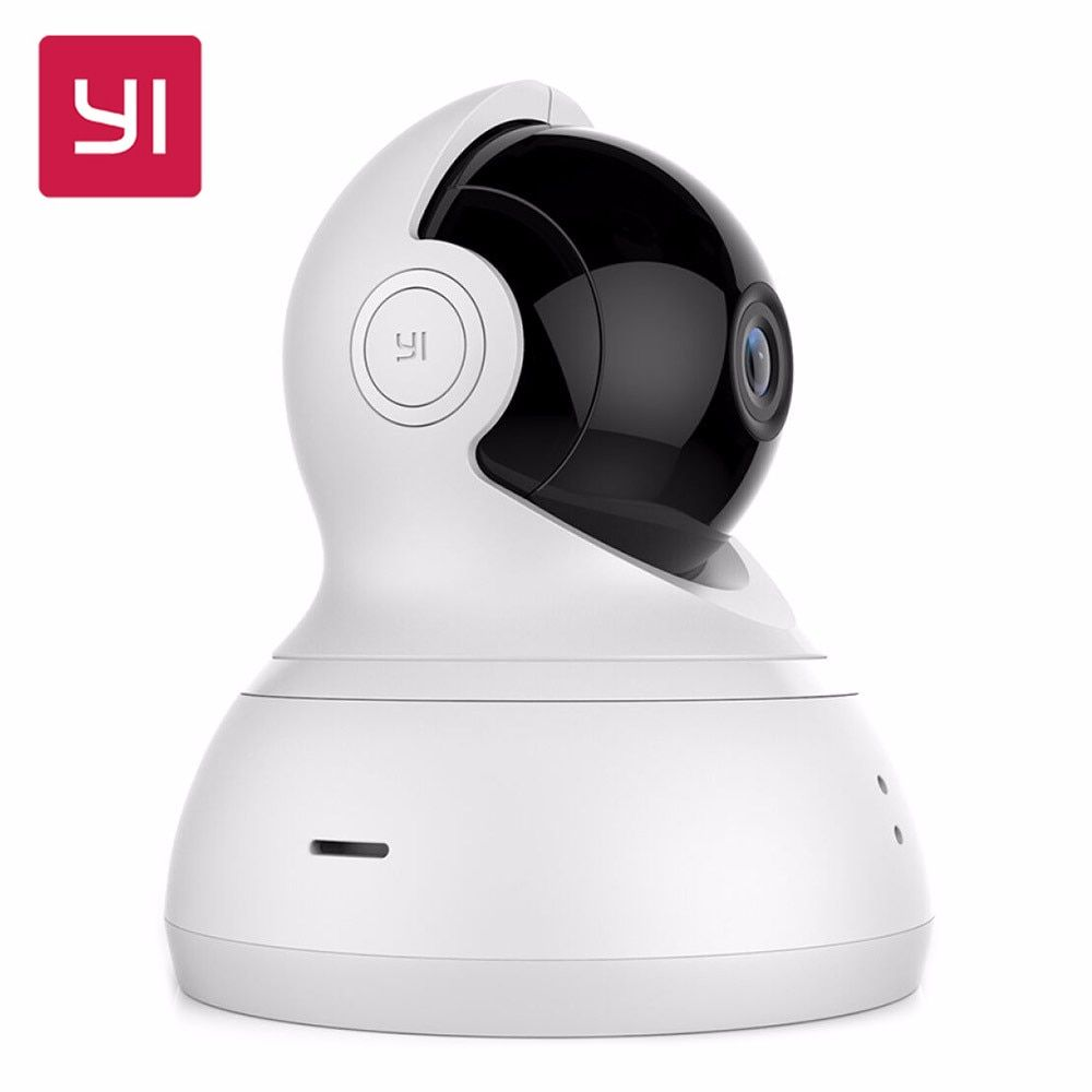 [International Edition] Xiaomi YI Dome Home IP Camera 112 Wide Angle 720P 360 Two-way Voice Call Infrared Night Vision WiFi Cam