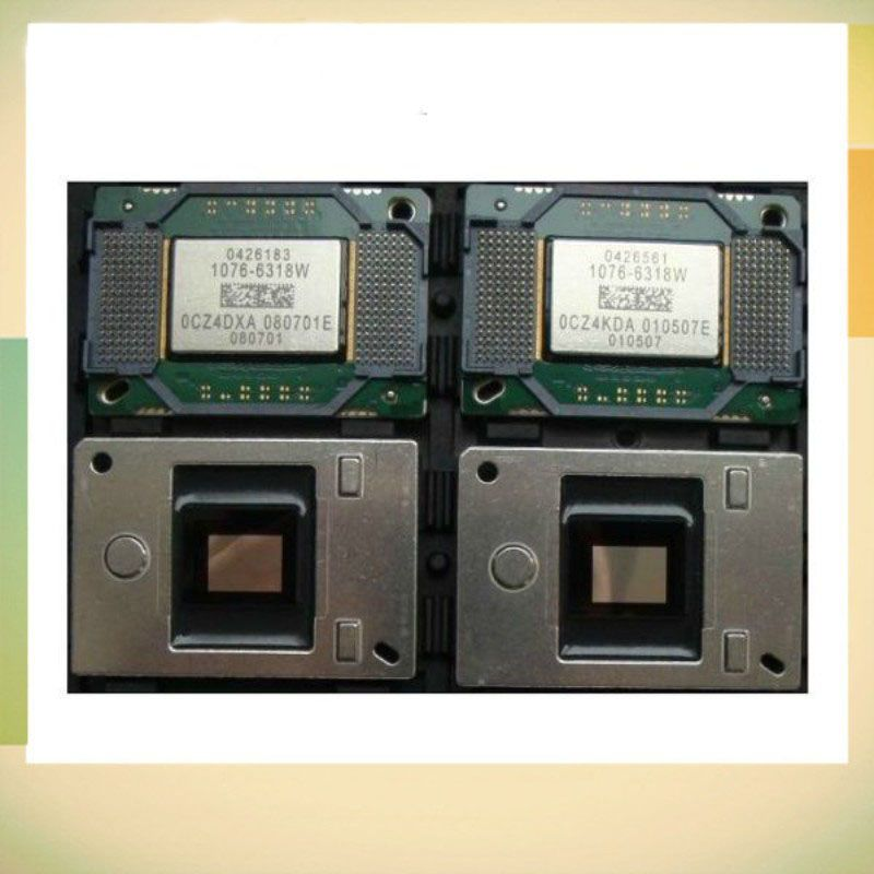 100% Brand new DMD chip 1076-6318W /1076-6319W/1076-6328W /1076-6329W for many projectors