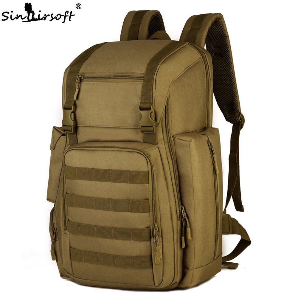 SINAIRSOFT 40L 17 zoll laptop Armee Militärische Taktische Rucksack Sport tasche Nylon Molle System für Camping Wandern Klettern LY2020