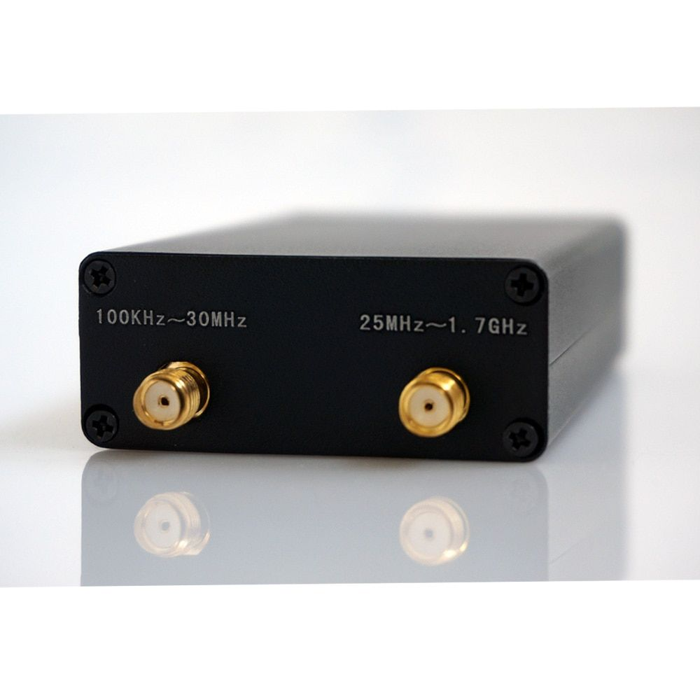 Récepteur Radio jambon 100 KHz-1.7 GHz pleine bande UV HF RTL-SDR récepteur USB RTLSDR avec récepteur RTL2832u R820t2 RTL SDR