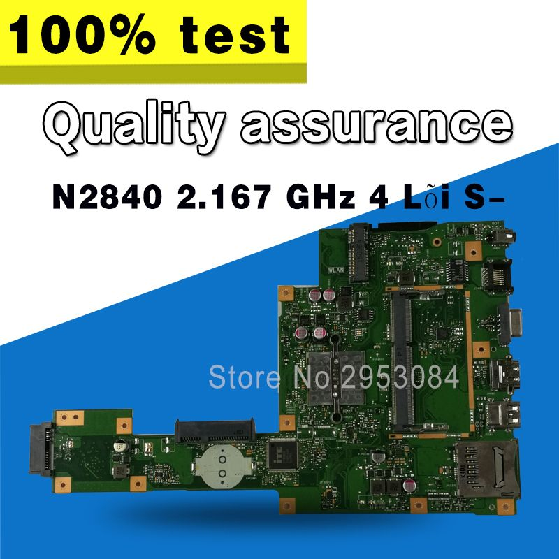 A553M A553MA D553M F553M F553MA K553M X503M X503MA F503MA X553M X553MA FOR ASUS Motherboard REV2.0 N2840 2.167 GHz 4 Core S-4