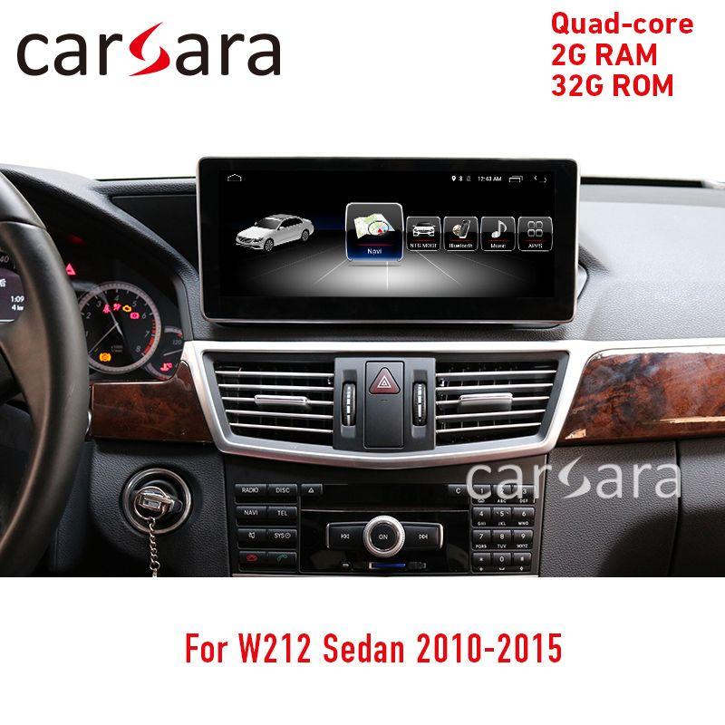 Mercede W212 touchscreen Android video navigator radio kopf einheit multimedia player display monitor 10,25 2 32G 2010- 2015 e250