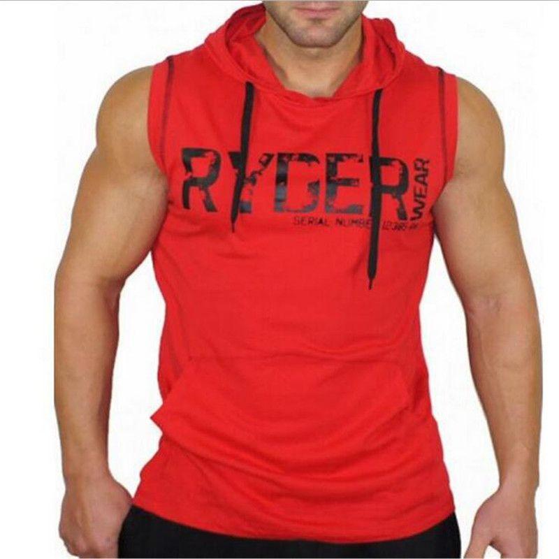 GYMOHYEAH sleeveless hoodie sweatshirt 2017 <font><b>famous</b></font> brand fashion crime hoodie men's hip hop man even cap unlined upper garment