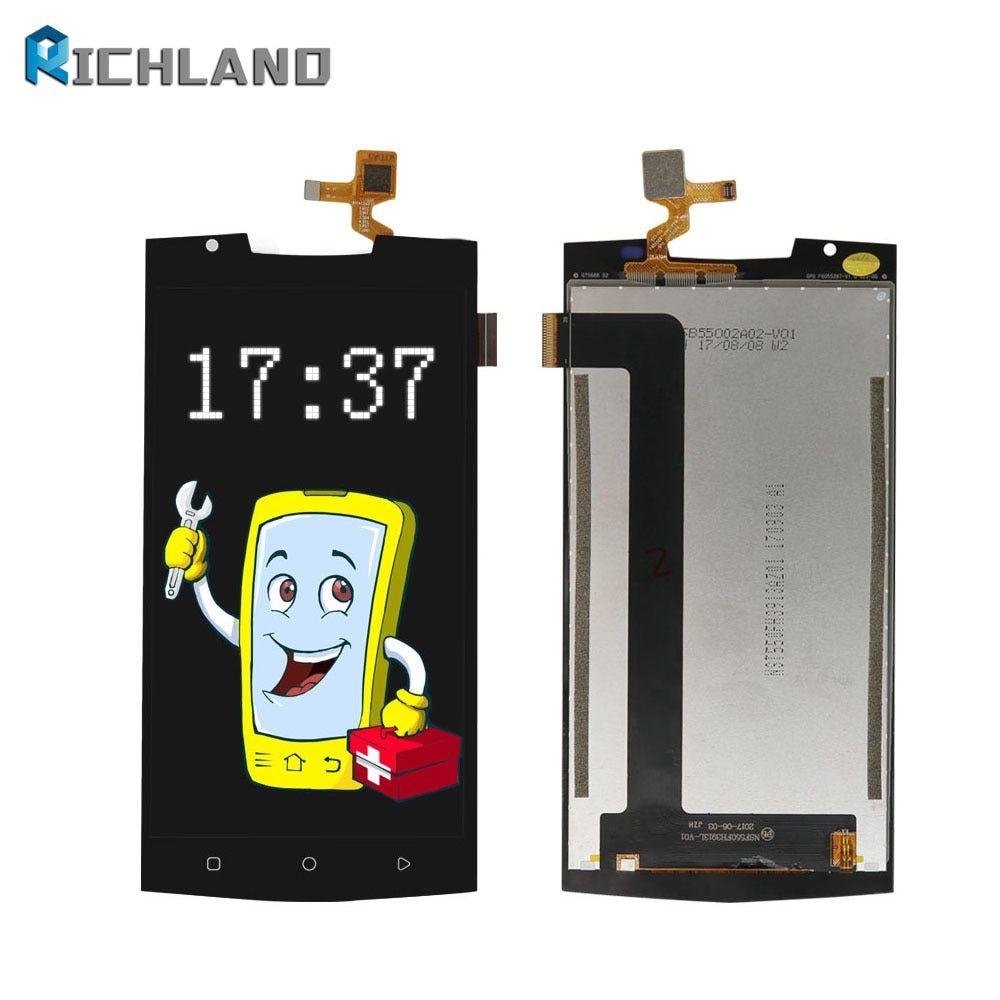 Original LCD For Oukitel K10000 Pro Touch FHD Screen Digitizer Assembly K10000 pro Perfect Repair Replacement Parts+Tool