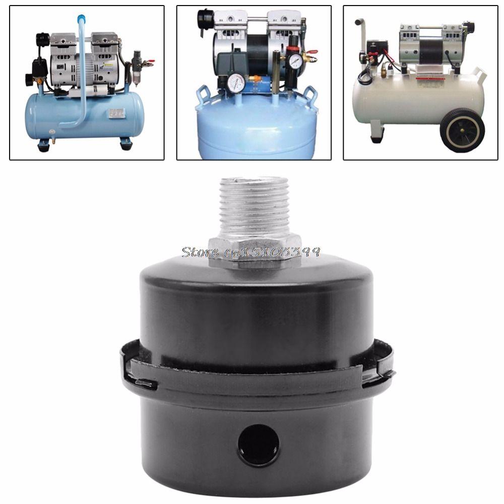 12,5mm/16mm/20mm Gewinde Schalldämpfer Rauschfilter Schalldämpfer für Luftpumpe Kompressor G08 Drop schiff