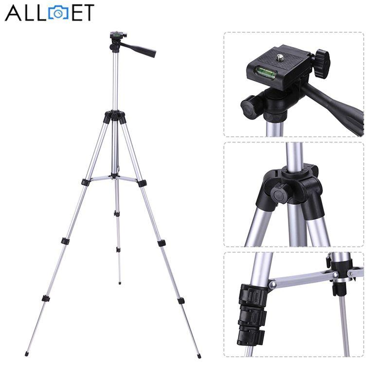 ALLOET 650mm Portable Professionnel Trépied D'appareil Photo Avec 1/4