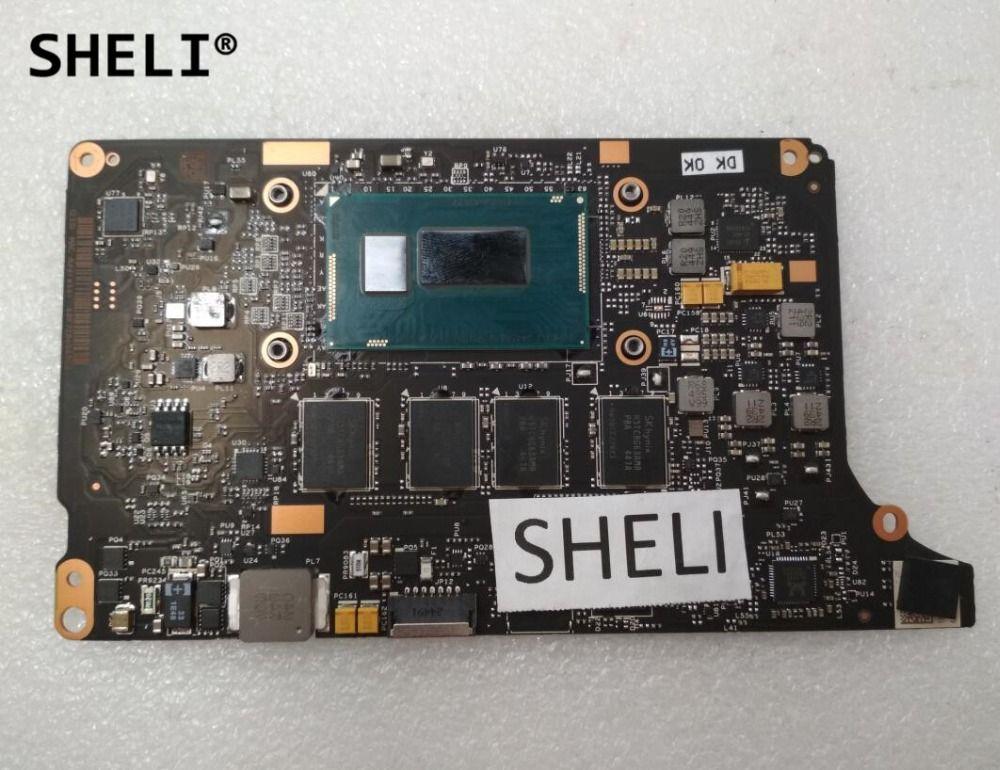SHELI For Lenovo Yoga 2 Pro Motherboard with I5-4210U processor 8G VIUU3 NM-A074