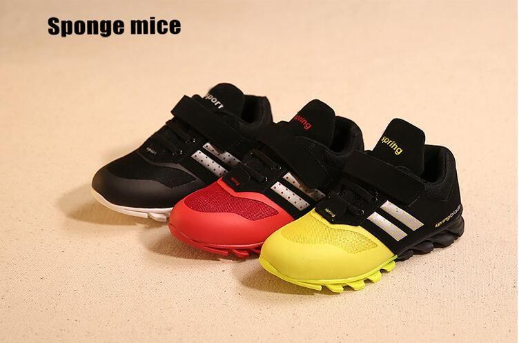 Новая обувь для детей девочек Обувь для мальчиков из искусственной кожи Кружево на высоком детей Спортивная обувь для девочек Обувь для мла...